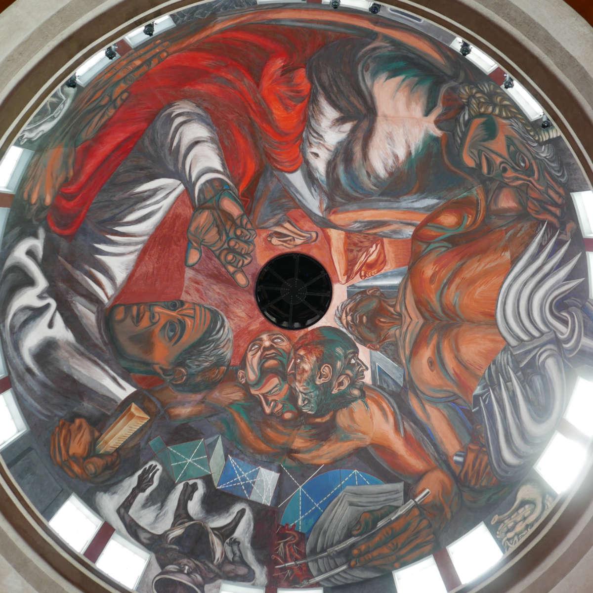 Mural of Orozco in Guadalajara