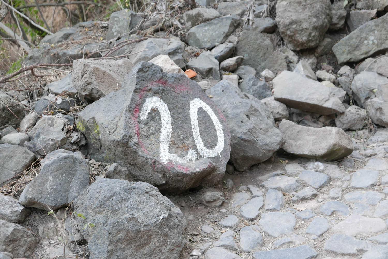 Numbered corners in Barranca de Huentitan