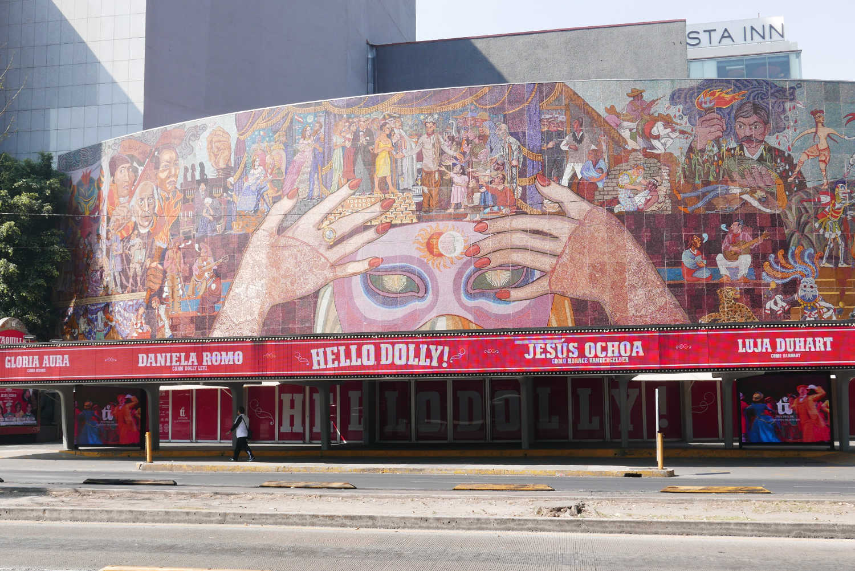 Teatro Insurgentes in Mexico City