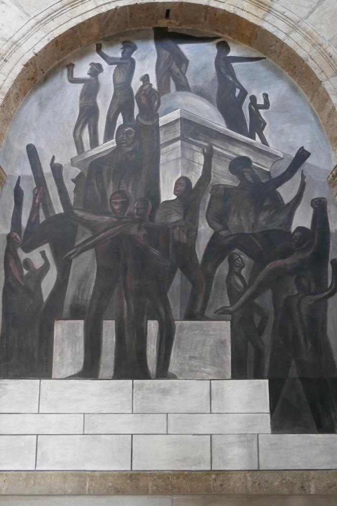 Orozco mural in Hospicio Cabanas in Guadalajara