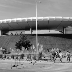 Chivas stadium in Guadalajara before the home match against Toluca, january 2019