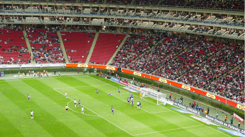 First half of Chivas against Toluca
