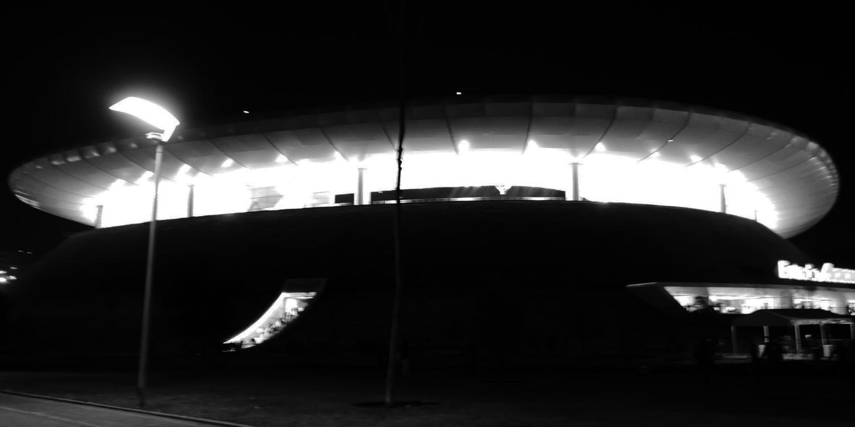 Chivas stadium in Guadalajara after the match