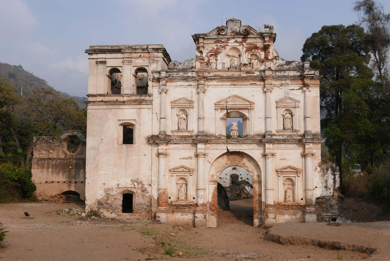 Ermita la Santa Cruz church in Antigua Guatemala