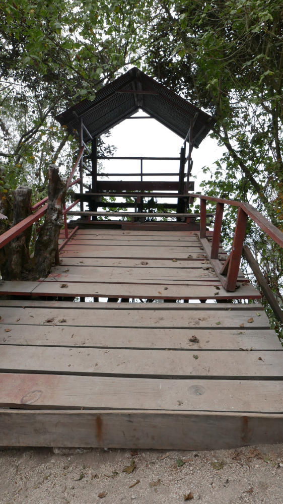 The mirador (viewpoint) to Lake Chicabal