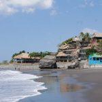 El Sunza beach, near El Tunco village, El Salvador