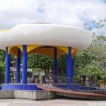 Kiosk in Parque Central in Esteli, Nicaragua