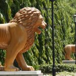 Lions avenue in Leon, Nicaragua