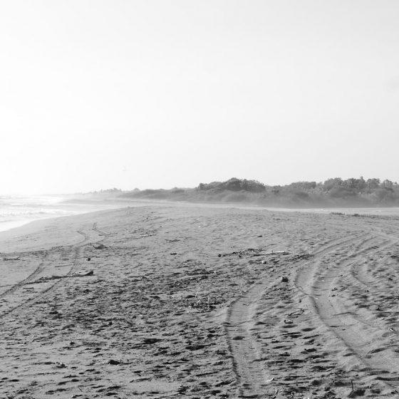 Playa Poneloya, the western end of Las Penitas area, near Leon in Nicaragua