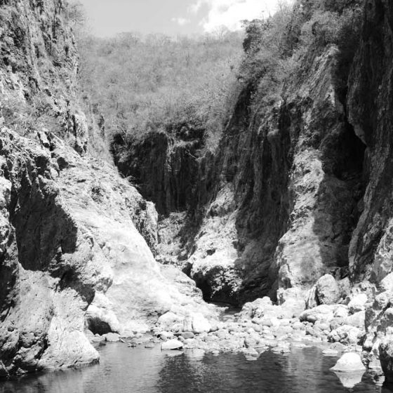 Gorge in Somoto canyon