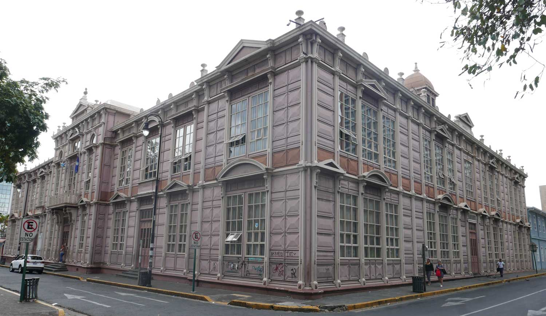 Buenaventura Corrales school near the Park Espana in San Jose, Costa Rica