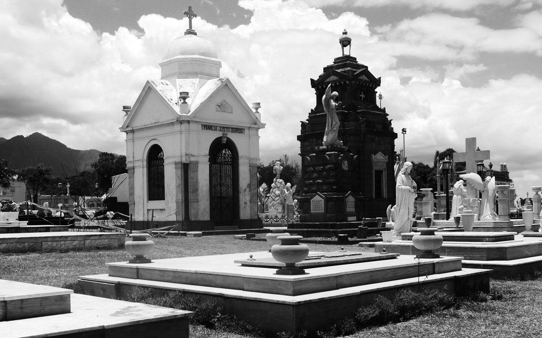Cemetery in San Jose, Costa Rica