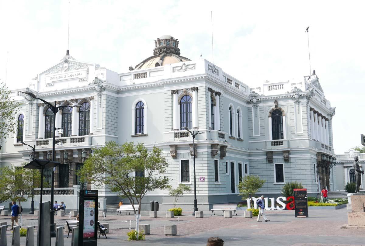 The MUSA museum in Guadalajara, part of the university
