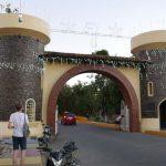 Entrance gate to Asese harbor near Las Isletas