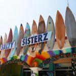 Salty Sisterz surf store in the Punta Zicatela area in Puerto Escondido
