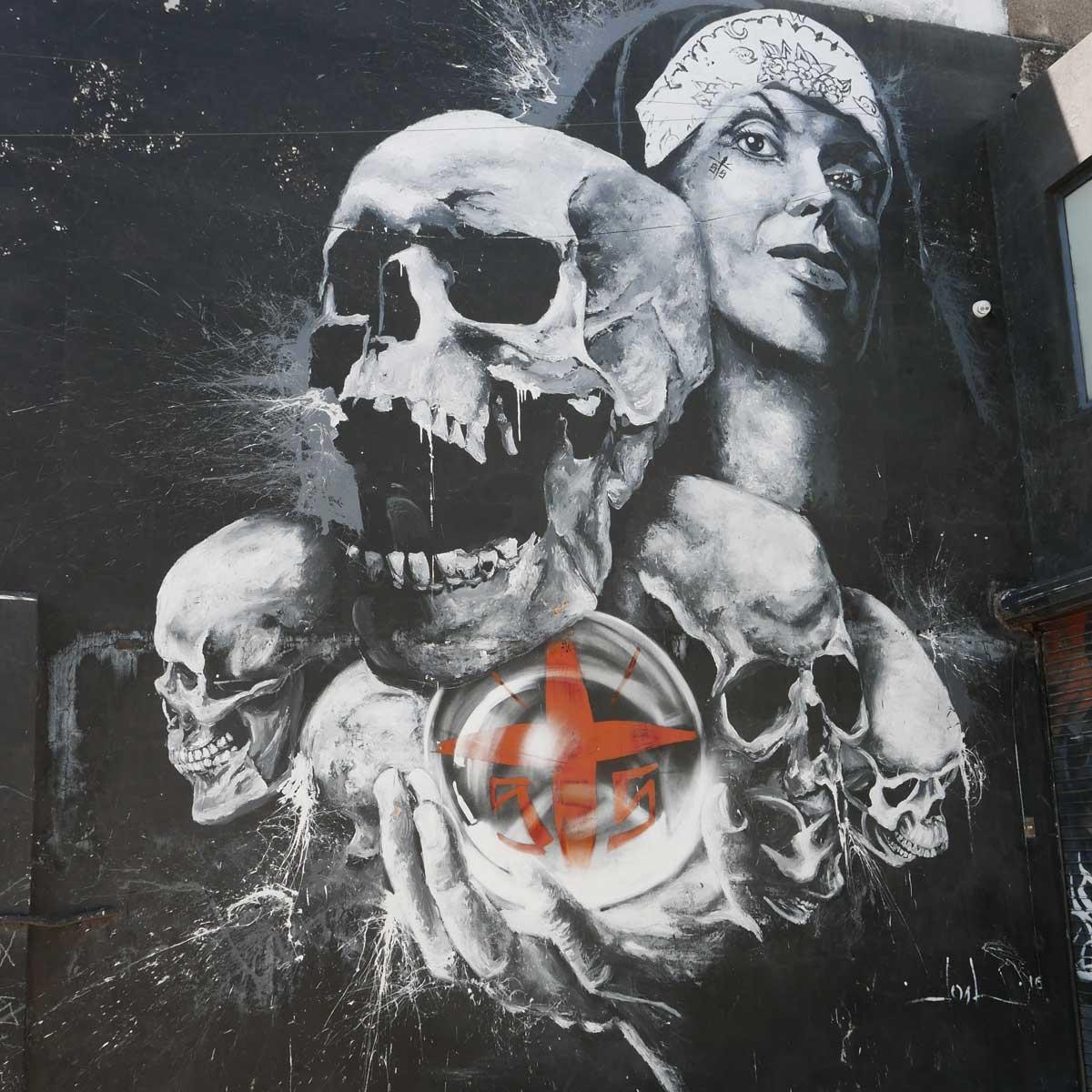 Street art in Guadalajara