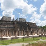 Temple behind the Kukulkan pyramid