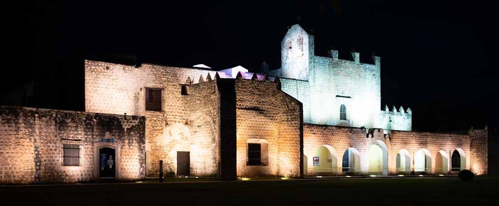 Basilica of Valladolid by night